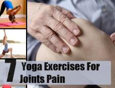 7 meilleurs exercices de yoga pour les douleurs articulaires