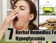 7 excellents remèdes pour l'hypoglycémie