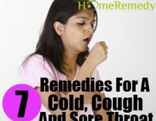 7 rapide des remèdes maison d'acteur pour un rhume, de la toux et maux de gorge