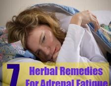 7 remèdes à base de plantes pour la fatigue surrénale