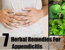 7 remèdes à base de plantes pour l'appendicite