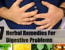 7 remèdes à base de plantes pour les problèmes digestifs