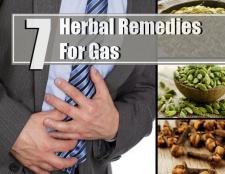 7 remèdes à base de plantes pour le gaz