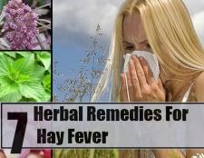 7 remèdes à base de plantes pour le rhume des foins