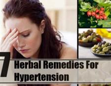 7 remèdes naturels pour l'hypertension