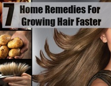 7 Accueil recours pour la croissance des cheveux plus rapide