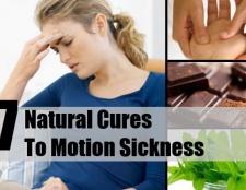 7 remède naturel au mal des transports