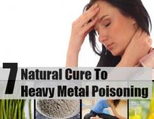 7 remèdes naturels pour empoisonnement aux métaux lourds