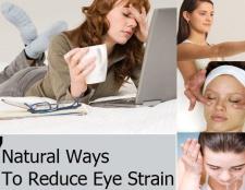 7 façons naturelles pour réduire la fatigue oculaire