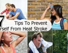7 conseils pratiques pour vous empêcher d'un coup de chaleur