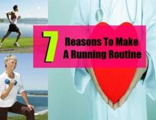 7 raisons de faire une routine en cours d'exécution