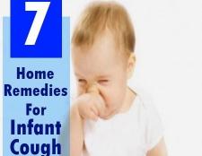 Top 7 des remèdes maison pour la toux du nourrisson