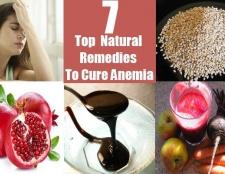 7 remèdes naturels pour soigner l'anémie Top