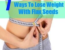7 façons de perdre du poids avec des graines de lin