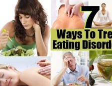 7 façons de traiter les troubles de l'alimentation