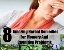 8 remèdes étonnants pour la mémoire et des problèmes cognitifs