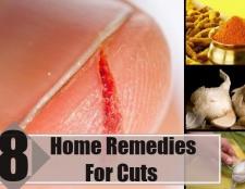 8 meilleurs remèdes maison pour les coupes