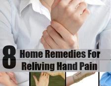 8 remèdes maison plus connu pour revivre la douleur main
