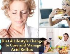 8 régime et style de vie change pour guérir et de gérer le reflux acide