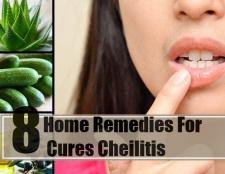 8 remèdes maison pour les cures chéilite