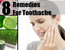 8 remèdes maison pour les maux de dents