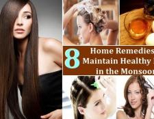 8 remèdes maison pour maintenir la santé des cheveux dans la mousson