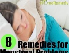 8 remèdes maison naturels pour les problèmes menstruels