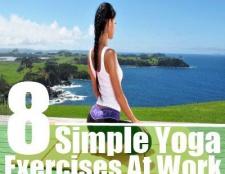 8 simples exercices de yoga au travail