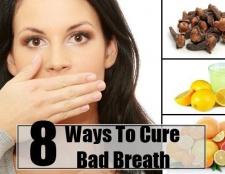 8 façons de guérir la mauvaise haleine
