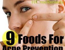 9 meilleurs aliments pour la prévention de l'acné