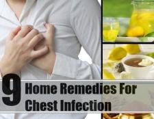 9 meilleurs remèdes maison pour infection à la poitrine