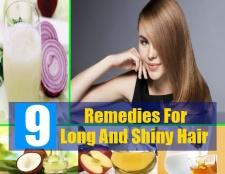 9 meilleurs remèdes maison pour les cheveux longs et brillants