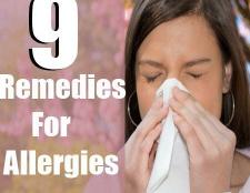 9 remèdes efficaces à domicile pour les allergies