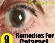 9 Grands remèdes maison pour la cataracte