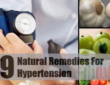 9 Grands remèdes naturels pour l'hypertension