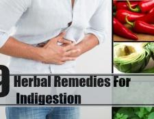 9 Remèdes pour l'indigestion