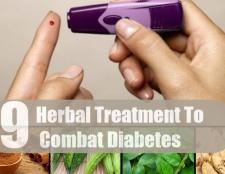 9 Herbal traitement pour combattre le diabète