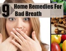 9 Accueil recours pour la mauvaise haleine