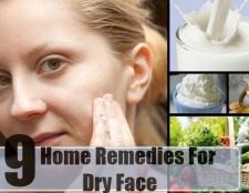 9 Accueil recours pour le visage sec