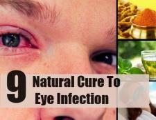 9 remèdes naturels pour infection de l'oeil