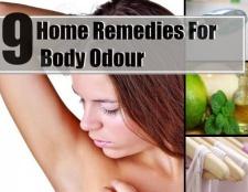 9 Top remèdes maison pour réduire les odeurs du corps