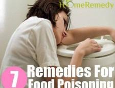 7 remèdes maison simples pour intoxication alimentaire