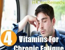 Meilleures vitamines pour la fatigue chronique