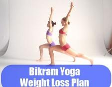 Plan de yoga Bikram de perte de poids