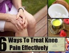 6 façons de traiter la douleur au genou efficace