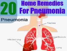 Diète pour la pneumonie