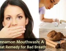 Bricolage cannelle rince-bouche: un grand remède pour la mauvaise haleine