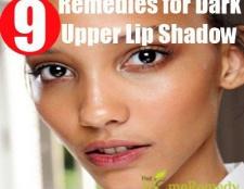 Remèdes efficaces à domicile pour la lèvre supérieure dark shadow
