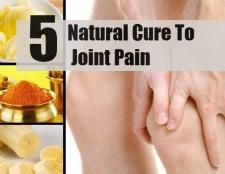 5 remède naturel pour les douleurs articulaires