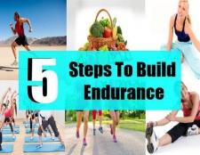 Comment construire l'endurance en 5 étapes